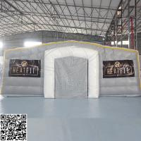 Large White Inflatable Cube Tent For Outdoor Camping SGS Commercial Grade