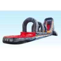 Wholesale 22ft Volcano Giant Inflatable Slip N Slide 0.55 PVC Tarpaulin For Commercial Event from china suppliers