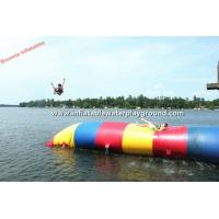 China Floating Inflatable Water Blob Adults Water Sports For Lake Or River on sale