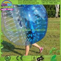 Wholesale Top Quality Inflatable Bubble Soccer Balls, Durable Bumper Ball with Colorful Dots from china suppliers
