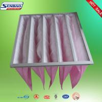 Wholesale Synthetic Fiber Media 5 Pockets F7 Bag Filter for Clean Air Conditioning Unit from china suppliers