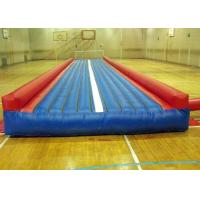 Wholesale Customized 9X3X0.5m Inflatable Air Track / Gymnastics Inflatable Tumble Floor from china suppliers