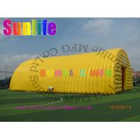 Wholesale hot sell inflatable air tight 0.6mm pvc tarpaulin wedding party outdoor tent from china suppliers