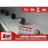 Wholesale Forged steel grinding media balls for power station , cement plant , mine from china suppliers