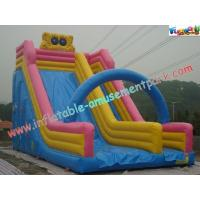 Wholesale 9M Spongebob Commercial Inflatable Water , Inflatable Bouncer Slides from china suppliers