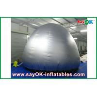 Wholesale Silver Round  5m Inflatable Planetarium Dome With Projection Cloth Projection Tent from china suppliers