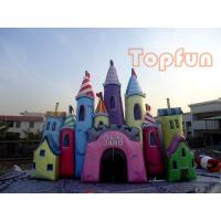 Wholesale Giant Fantastic Cinderella Castle , Customized Colourful PVC Jumping Castle from china suppliers