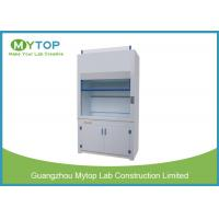 China Polypropylene Laboratory Fume Hood Cabinet For Science Lab Chemical Resistance on sale