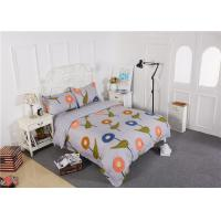 Wholesale Modern Long - Staple Cotton Bedding Sets Embroidery Flowers / Home Furnishing Textiles from china suppliers