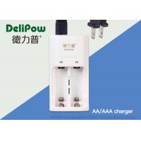 Wholesale AA / AAA 2 Slots Rechargeable Batteries And Charger 3 Years Cycle Life from china suppliers