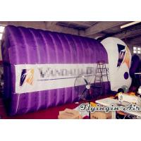 Wholesale Inflatable Football Helmet Tunnel with Printing Logo for Football and Sports from china suppliers