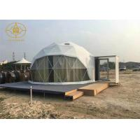 Wholesale Clear Span Lightweight Geodesic Tent Fire Retardant Commercial Dome Tents from china suppliers