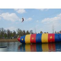 Wholesale Customized Inflatable Water Blob Pillow , 0.9mm PVC Blob Water Launcher from china suppliers