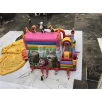 China Party Equipment Commercial Inflatable Bounce House And Slides For Children on sale