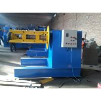 Wholesale 5 / 6 Tons Hydraulic Decoiler Machine 4KW Hydraulic Motor For Loading Steel Coils from china suppliers