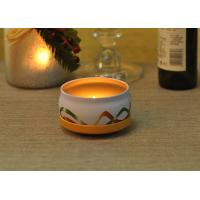 Large Colored Tin Candle Holders Box Personalised For Home Fragrance