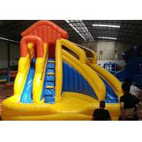 Children Small Home Backyard Inflatable Water Slide With Pool 3 In 1