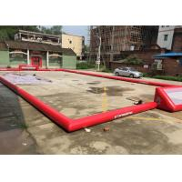 Wholesale Outdoor Football Games 19.5m x 13.5m Inflatable Sports Arena For Adults from china suppliers