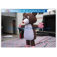 Large Inflatable Cartoon Characters Costume , Inflatable Mickey Mouse 2.2m Movable