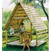 Wholesale wooden outdoor playground,The children play house from china suppliers