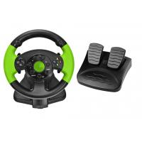 Wholesale PC / X-INPUT / PS3 / XBOX 360 All in One VIdeo Game Steering Wheel with Foot Pedal from china suppliers