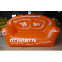 Wholesale inflatable pvc double sofa / pvc inflatable football air sofa / inflatable music sofa from china suppliers