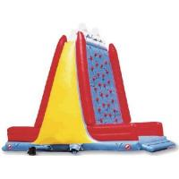 China Amusement Park Inflatable Sports Games Children Inflatable Rock Climbing Wall on sale