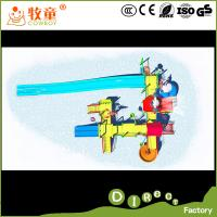 China Stainless Steel and Fiberglass Pool Water Park ,Water Slides for pools on sale