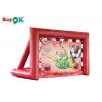 China Portable Inflatable Sports Games / Mini inflatable Soccer Door Outdoor Football Court on sale