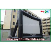 Wholesale Giant 10 mL x 7 mH Projection Cloth Inflatable TV Screen CE / SGS Certificate from china suppliers