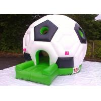 China Soccer Inflatable Bouncer Jumping House , Inflatable Bouncer House For Kids And Adult on sale