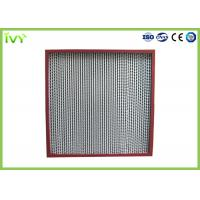 Wholesale Thermostable Hepa Dust Filter , Custom Hepa Filter Large Air Flow 320×320×220mm from china suppliers