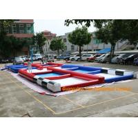 Buy cheap PVC Tarpaulin Inflatable Zorb Rump Outdoor Race Track With Digital Printing from wholesalers