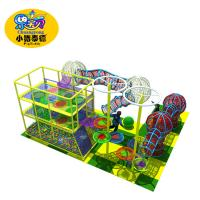 Wholesale Amusement Park Rainbow Net Outdoor Obstacle Course Equipment For Kids from china suppliers