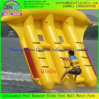 Wholesale Customzied Inflatable Flying Fish Tube Towable Inflatable Banana Boat Flying Fish from china suppliers
