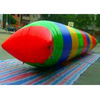 Wholesale Crazy Giant Inflatable Water Toys / Lake Water Blob Trampoline for Adults from china suppliers