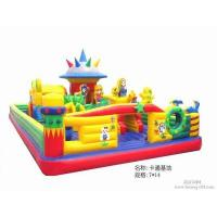 China 6 * 6M Huge castle inflatable garden toys / fun games for Children on sale