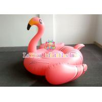 Wholesale UV Resistant Wateproof Inflatable Flamingo Float With NAPA701 Flame Retardant from china suppliers