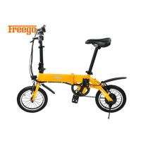 China Waterproof Folding Electric Scooter Bike , Fold Up Electric Bike Strong Structure on sale