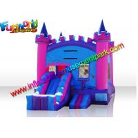 China Turrets Colorful Commercial Bouncy Castles  Slide  5 x 4  Meters for Girl on sale