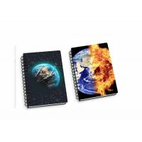 Wholesale Lenticular PP / PET 45 Sheets 3D Flip Notebook A4 / A5 / A6 Size Plastic Hard Cover from china suppliers