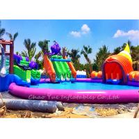 Buy cheap Outdoor 30m 18OZ PVC Octopus Slide Inflatable Aqua Park Inflatable Water Games from wholesalers