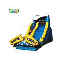 China Sport Giant Inflatable Slide Durable Wet Dry Bounce House Slide For Park Districts on sale