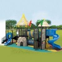 Buy cheap Outdoor Playground Equipment with Electro-static Powder and Vinyl Coating from wholesalers