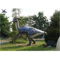 Buy cheap Handmade Simulation Full Size Garden Statues , Realistic Raptor Dinosaur from wholesalers