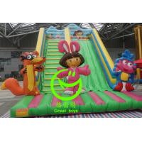Wholesale Best selling inflatable dora slide with 24months warranty GT-SAR-1643 from china suppliers