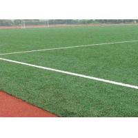 Wholesale 12000 Dtex Natural Looking Outdoor Artificial Turf For Football Field Fire Resistant from china suppliers