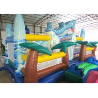 Wholesale Giant Inflatable dolphin New Ocean undersea world Fun city Inflatable ocean playground park from china suppliers