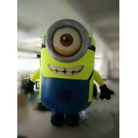 Wholesale 2m Inflatable Minions, Wearable Moving Inflatable Cloth For Advertisement from china suppliers