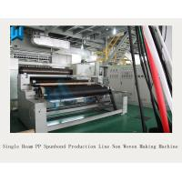 Wholesale Single Beam PP Spunbond Production Line / High Output Non Woven Making Machine from china suppliers